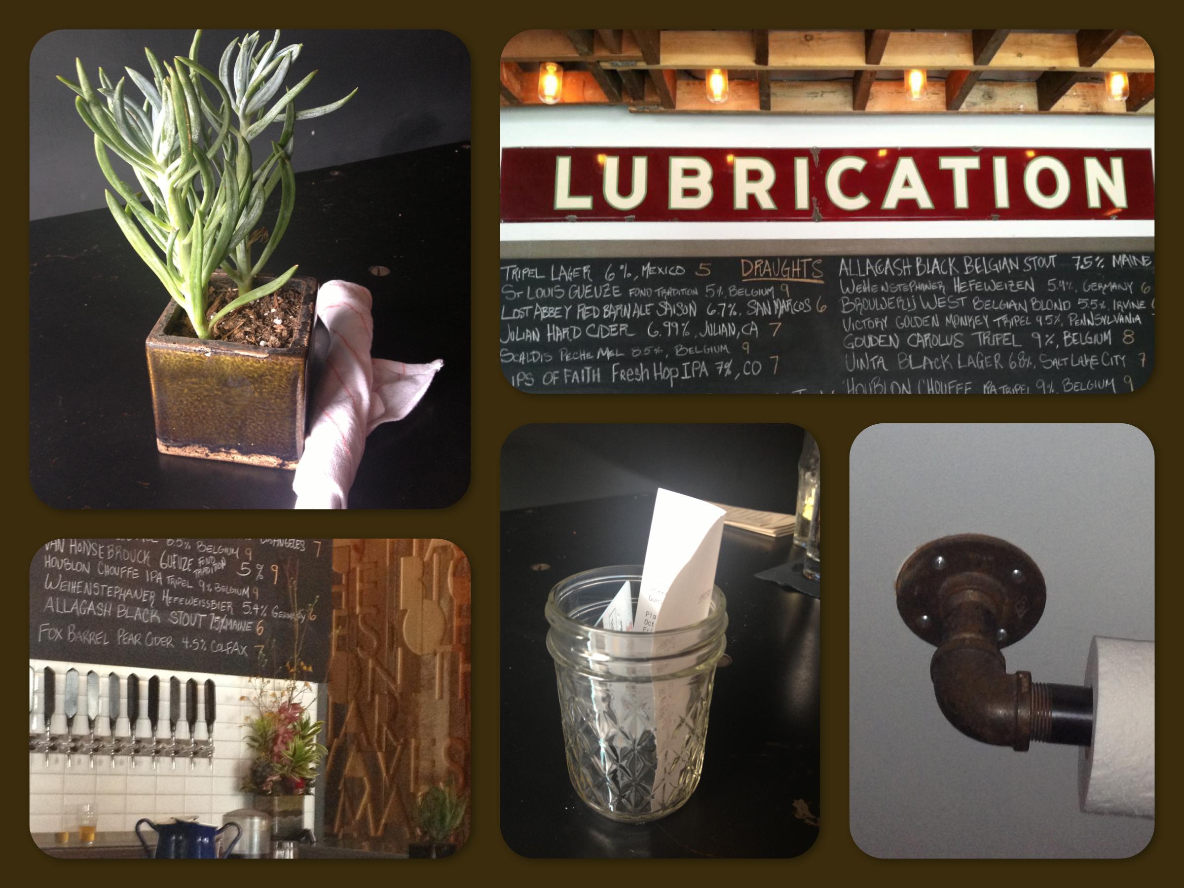 The Tripel - Industrial Modern Restaurant Decor