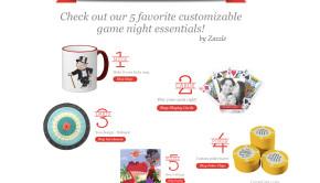 Customizable Game Night Essentials