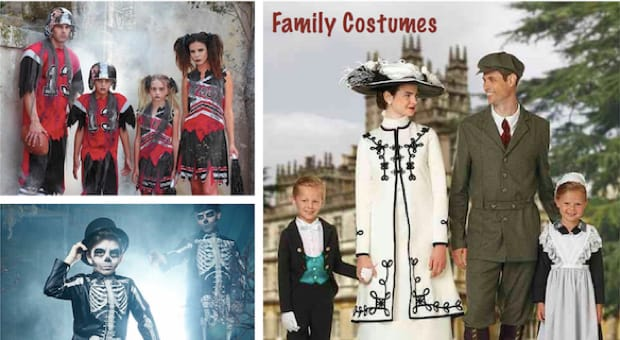 Family Matching Halloween Costumes