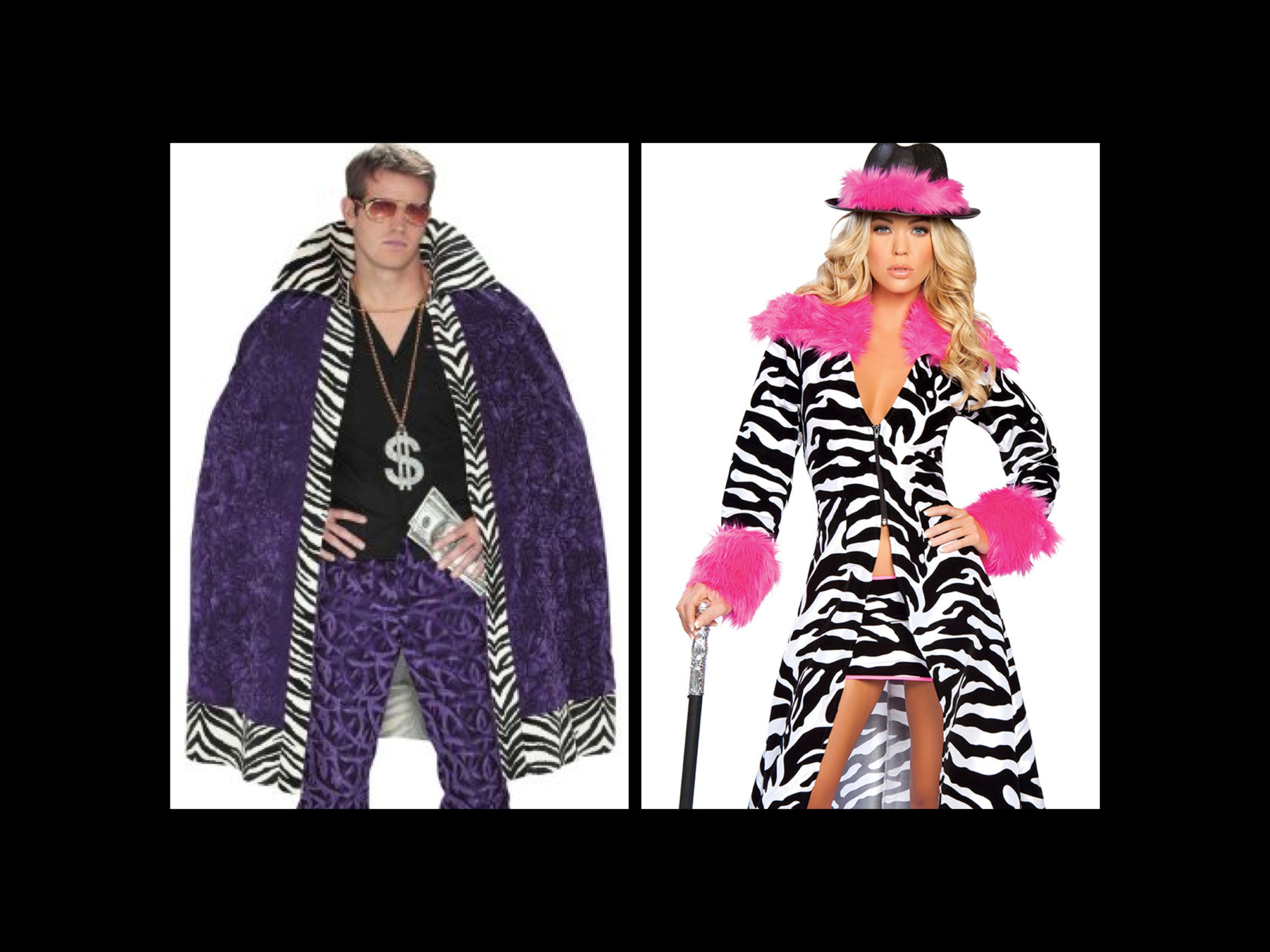 Group Halloween Zebra Costumes