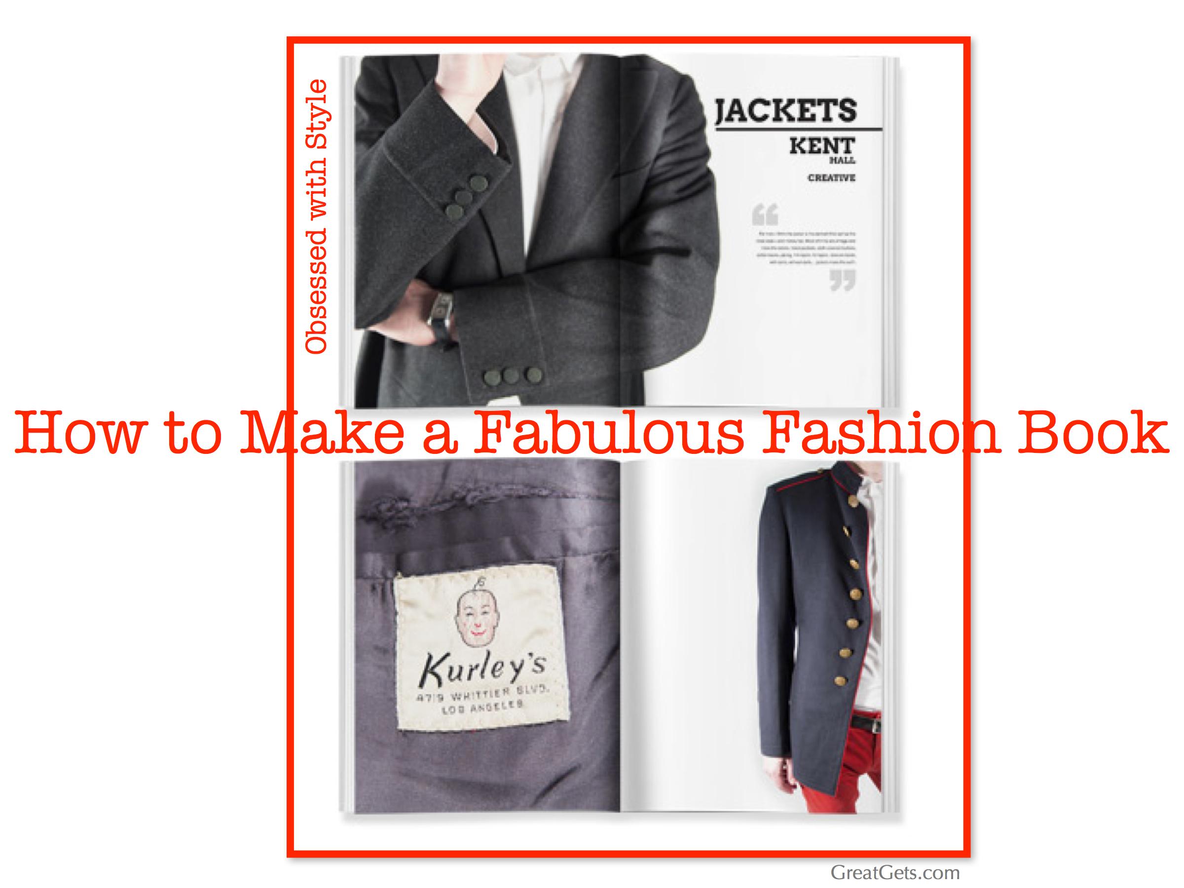 How2 Make Blurb Fashion Book